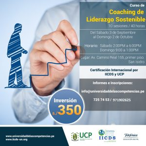 Coaching de Liderazgo Sostenible #UCP